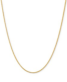 "Wheat Link 18"" Chain Necklace in 14k Gold"