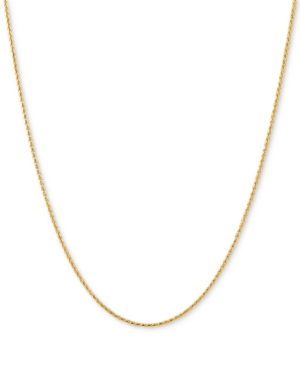 """Wheat Link 18"""" Chain Necklace in 14k Gold"""