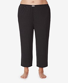 Cropped Knit Pajama Pant