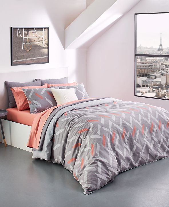 Lacoste Home Lacoste Tamarin Reversible Bedding Collection