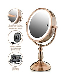 "7.5"" Lighted Tabletop Vanity Mirror"