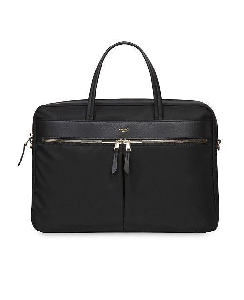 Knomo London Hanover Slim Laptop Briefcase