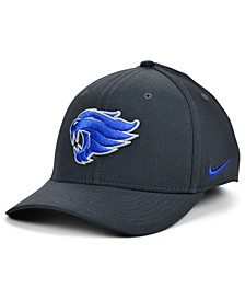 Kentucky Wildcats Classic Swoosh Stretch Fitted Cap