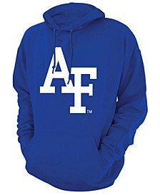 Men's Air Force Falcons Screenprint Big Logo Hooded Sweatshirt