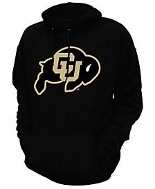 Men's Colorado Buffaloes Screenprint Big Logo Hooded Sweatshirt