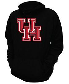 Men's Houston Cougars Screenprint Big Logo Hooded Sweatshirt