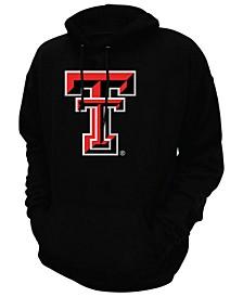 Men's Texas Tech Red Raiders Screenprint Big Logo Hooded Sweatshirt