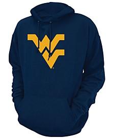 Men's West Virginia Mountaineers Screenprint Big Logo Hooded Sweatshirt