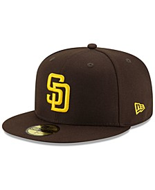 San Diego Padres Authentic Collection 59FIFTY Fitted Cap