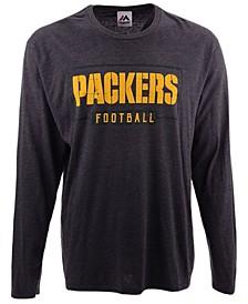 Men's Green Bay Packers Box Score FO Long Sleeve T-Shirt