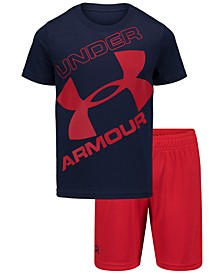 Little Boys 2-Pc. T-Shirt & Shorts Set