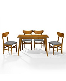 Landon 5 Piece Dining Set