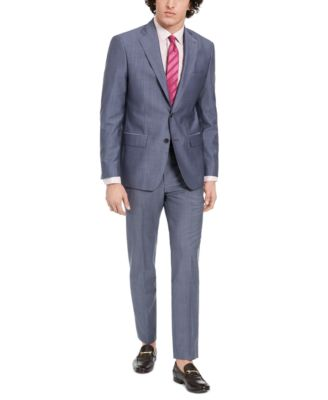 Men's Slim-Fit Stretch Suit Pants