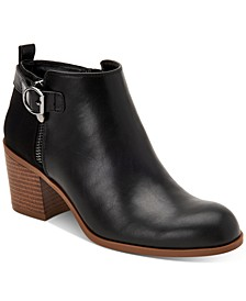 Onyaa Block-Heel Booties, Created for Macy's