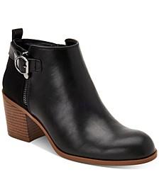 Onyaa Block-Heel Booties, Created For Macy's