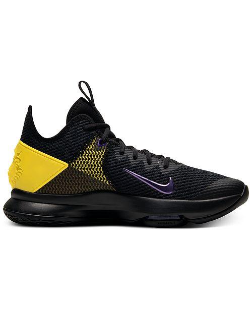 Nike Men's LeBron Witness IV Basketball Sneakers from Finish Line