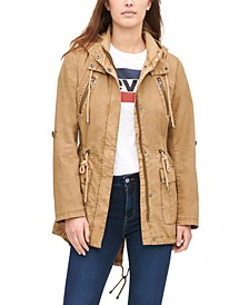 Women's Hooded Utility Jacket