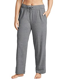 Plus Size Cotton Pajama Pants