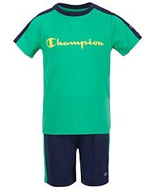 Toddler Boys 2-Pc. Colorblocked T-Shirt & Shorts Set