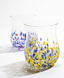 Venezia Glass Cups - Set of 4