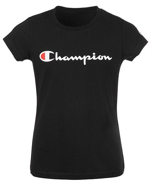 Champion Big Girls The Original Logo T-Shirt