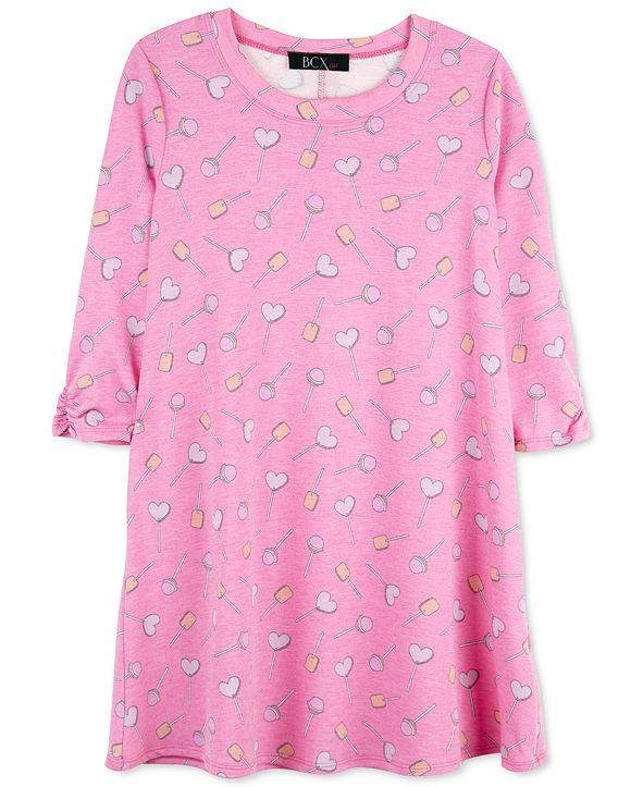 BCX Big Girls Heart Lollipops Dress