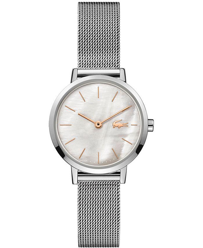 Lacoste - Women's Moon Stainless Steel Mesh Bracelet Watch 28mm