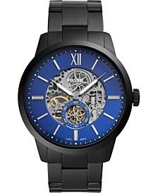 Men's Automatic Townsman Black Stainless Steel Bracelet Watch 48mm