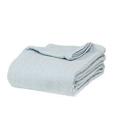 Chevron Woven All Season Blanket, Full/Queen