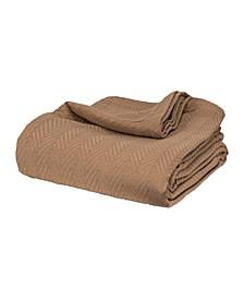 Chevron Woven All Season Blanket, Twin