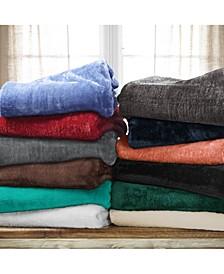 Wrinkle Resistant Plush Fleece Blanket Collection