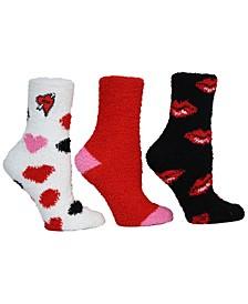 Ladies Cozy Socks, Pack of 3