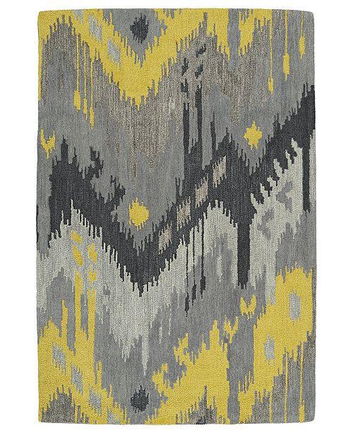 "Kaleen Casual 5054-75 Gray 5' x 7'6"" Area Rug"
