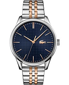 Men's Vienna Two-Tone Stainless Steel Bracelet Watch 42mm