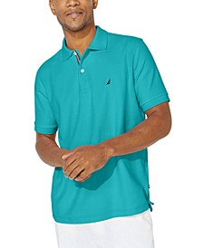 Men's Solid Classic-Fit Deck Polo Shirt