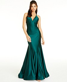 Open-Back Mermaid Dress