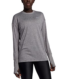 Women's Element Dri-FIT Long-Sleeve Running Top