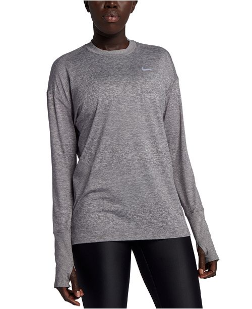 Nike Element Dri-FIT Long-Sleeve Running Top