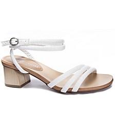 Montezuma Block Heel Dress Sandals