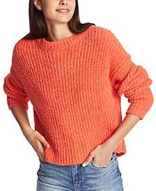Terry Yarn Crewneck Sweater