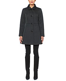 Water-Resistant Quilted Coat