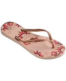 Women's Slim Organic Flip-Flop Sandals