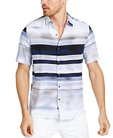 Men's Delfano Stripe Shirt, Created for Macy's
