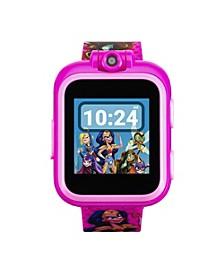 Kids PlayZoom DC Comics Superhero Girls Strap Touchscreen Smart Watch 42x52mm