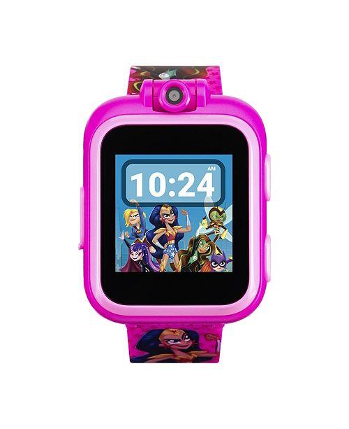 iTouch PlayZoom DC Comics - Superhero Girls Strap Touchscreen Smart Watch 42x52mm