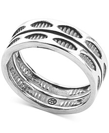 Stackable Statement Ring in Sterling Silver