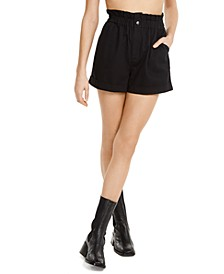 Paperbag Waist Shorts, Created for Macy's
