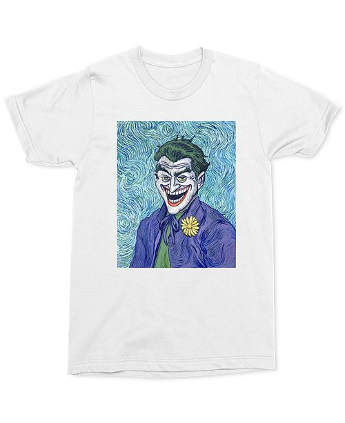 Changes Joker Brush Swirl Men's Graphic T-Shirt