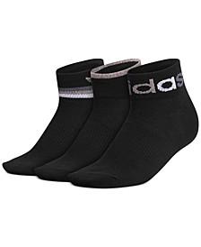 3-Pk. Graphic Ankle Women's Socks