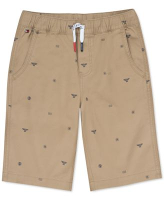 Big Boys Stretch Logo-Print Shorts
